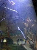 Aquarium in het Fort museum