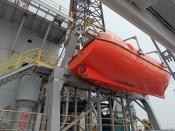 Reddingsboot platform