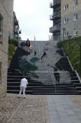 Sonderborg trap naar centrum