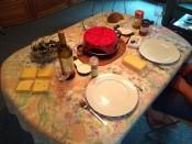Eerste avond raclette